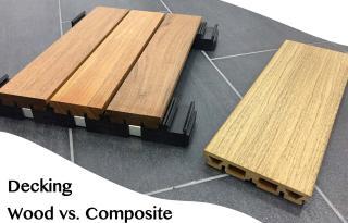 Plancher extérieur: bois ou composite? Vous avez le choix, mais...