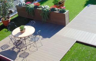 Bois composite: un peu de clarté sur le plancher extérieur composite